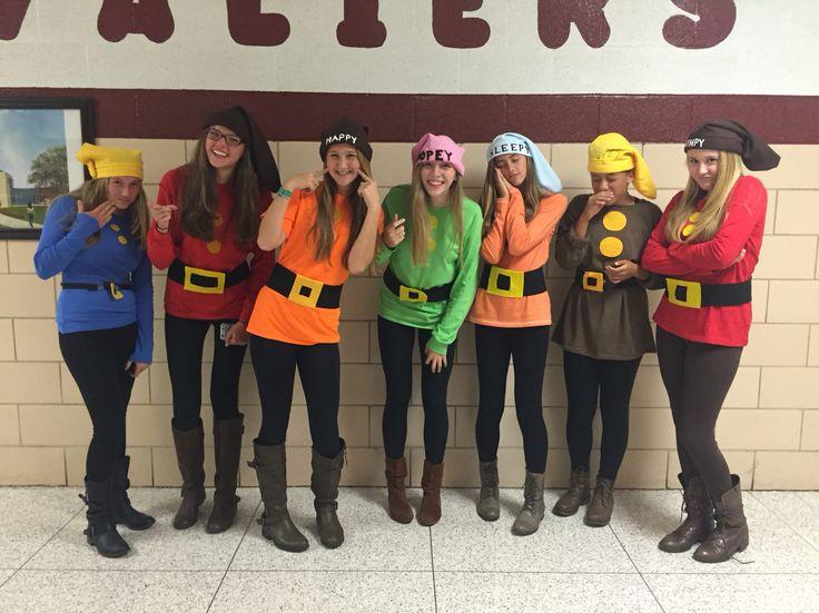 7 dwarf costumes!!!