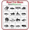 Printable car Bingo card - IMAGE IS COPYRIGHT MOMSMINIVAN - DO NOT COPY