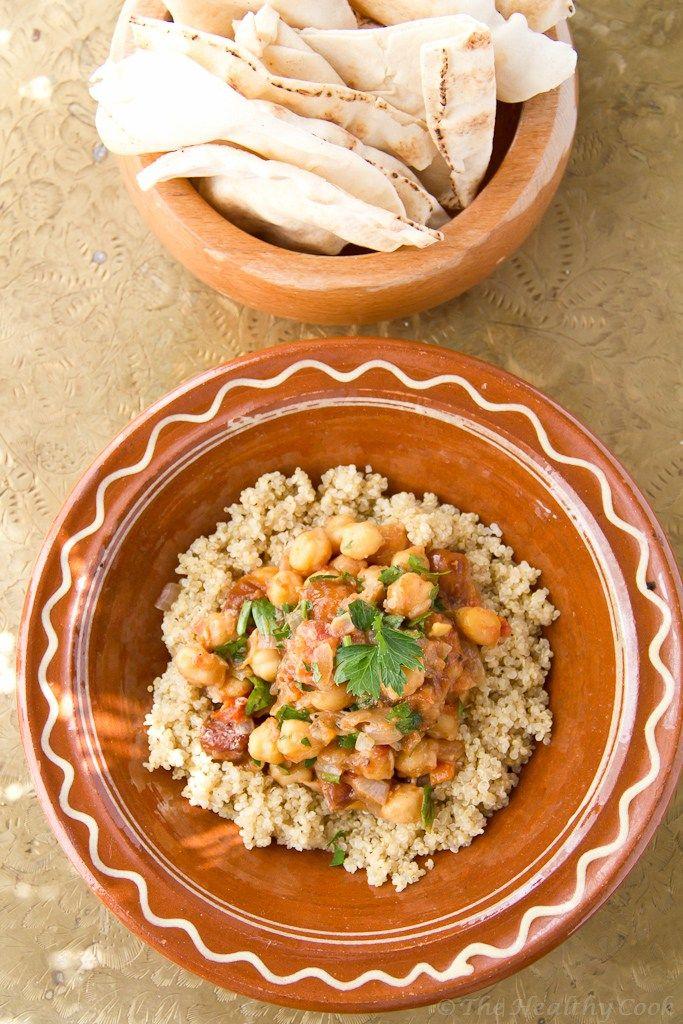 Moroccan Chickpeas with Quinoa – Μαροκινά Ρεβίθια με Κινόα