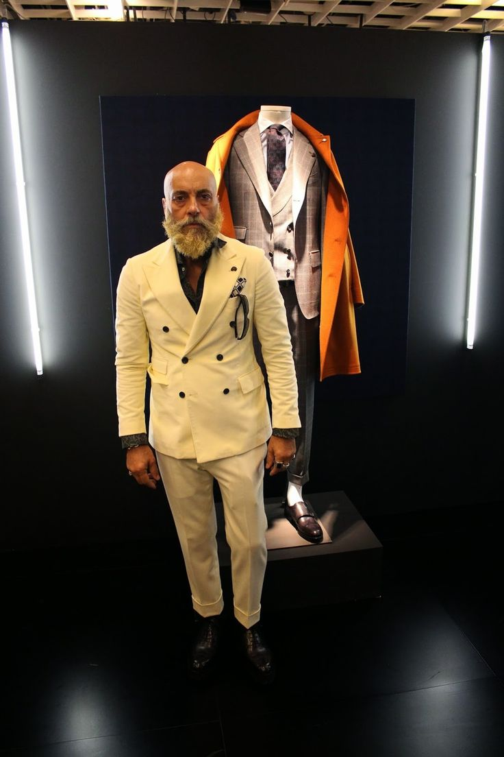 Gabriele Pasini @ Pitti Uomo 87°