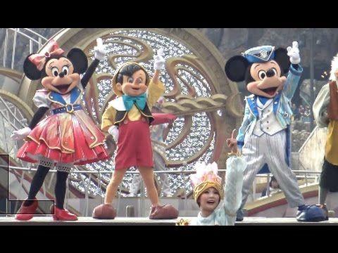 This video is Tokyo DisneySEA 15th Anniversary grand Finale show Crystal Wishes Journey Shine On! part of Tokyo DisneySEA Theme song scene. Every character so cute!!  Thank you for your comming, and please check more video. https://www.youtube.com/user/TheDuffyChannel  東京ディズニーシー15周年、グランドフィナーレバージョンのハーバーショー、クリスタル・ウィッシュ・ジャーニー~シャイン・オン!でクリスタルウィッシュジャーニーから変更になった ディズニーシーテーマソングパートの各キャラクターの様子をまとめた様子です。  各キャラクターごとにそれぞれの振り付けがあり、個性が出ていて見ていて、とても楽しいです。 ミッキー、ミニー→ミッキー広場 ドナルド、デイジー→イル・ポスティーノ・ステーショナリー前…