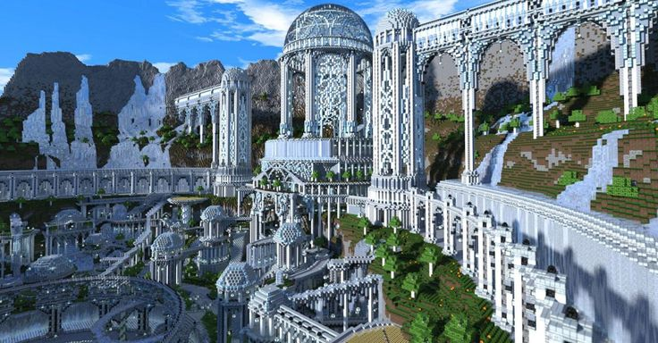 Minecraft goes far beyond gaming. From Hogwarts to Middle Earth, here are 10 incredibly realistic creations Minecraft players have made.