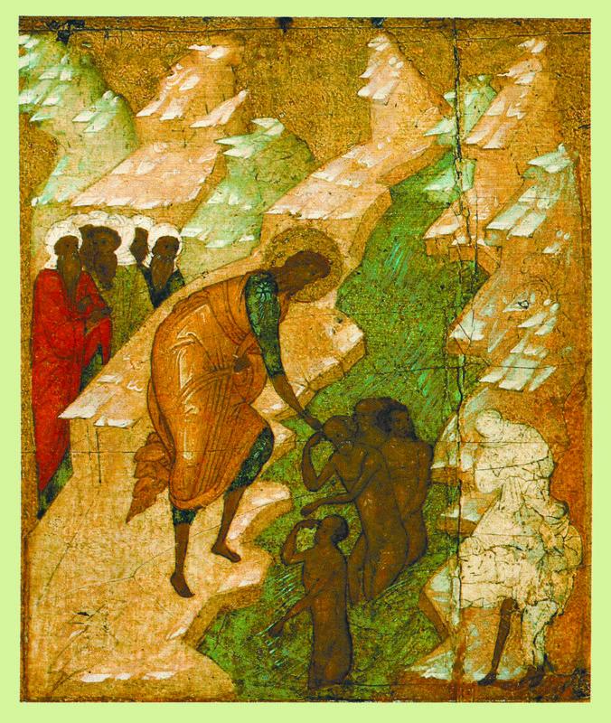 Фрагмент. Около 1500 г.  Школа Дионисия.   Шестоднев