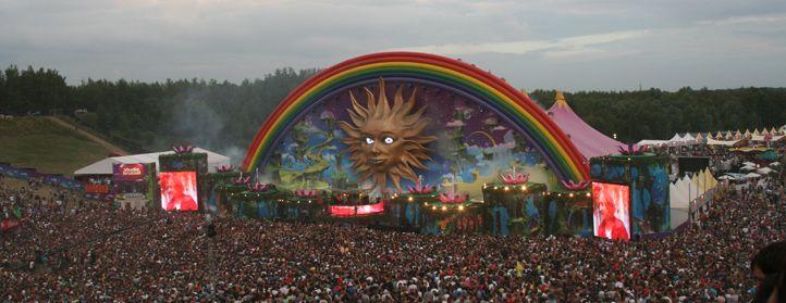 Tomorrowland stage design