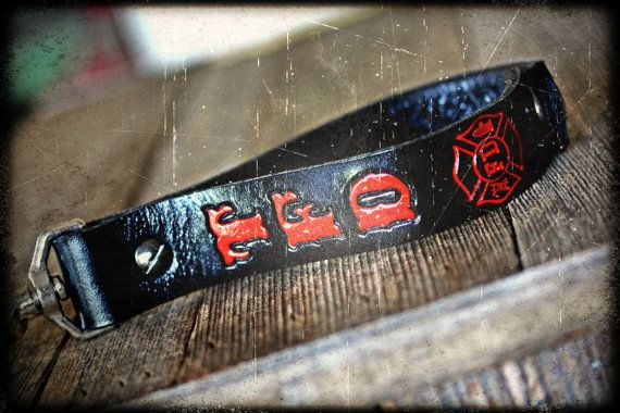 Firefighter Glove Tamer by JBLeatherOutfitters on Etsy