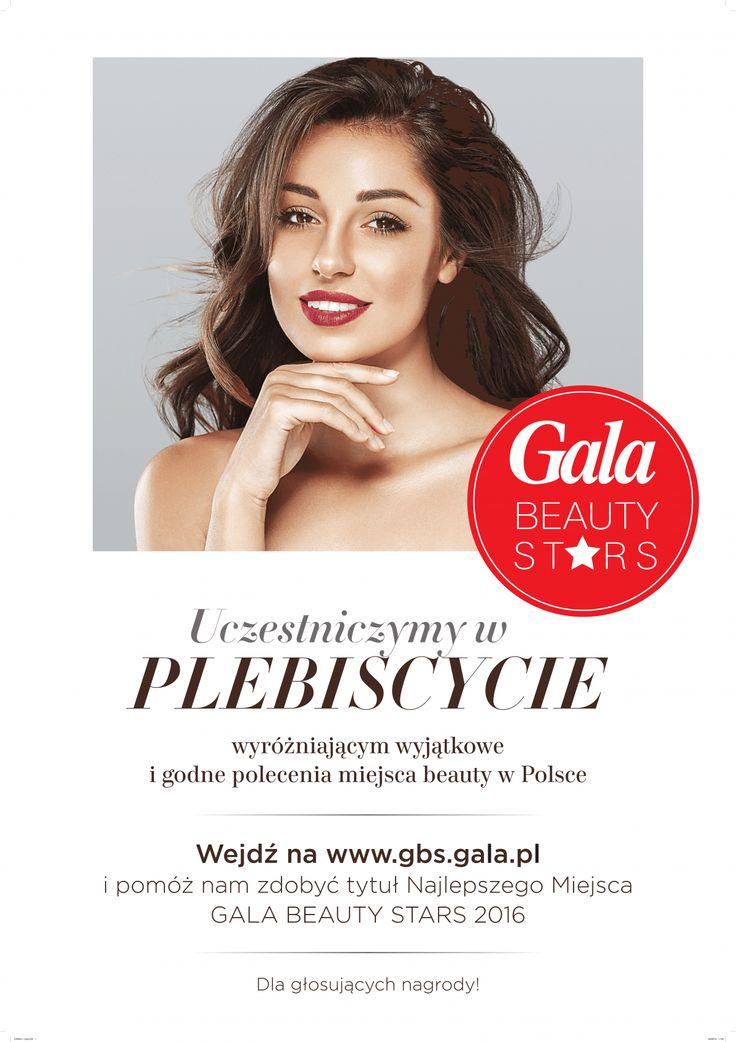 Uczestniczymy w plebistycie Gala BEAUTY STARS ! Ratyńscy Dental Clinic
