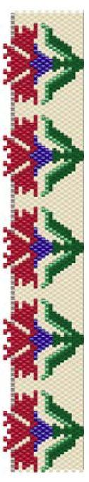 Turkish Flower Bracelet Pattern at Sova-Enterprises.com. Lots of free beading patterns and tutorials on this site!
