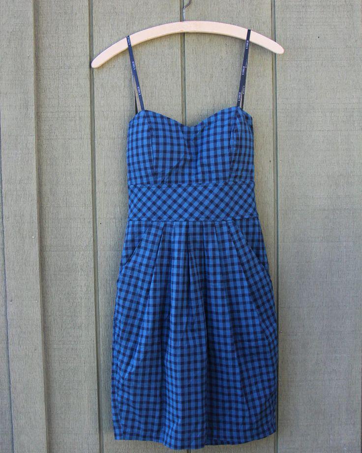 Electric Blue Sun Dress ~