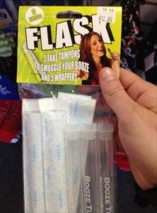 tampon flask...what?