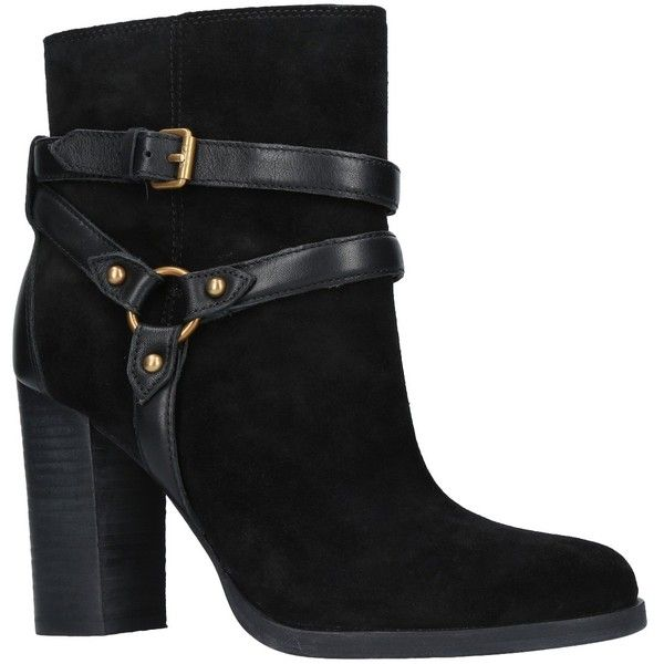 1de22ebea4f94 UGG Dandridge Block Heeled Ankle Boots (£99) ❤ liked on Polyvore featuring  shoes
