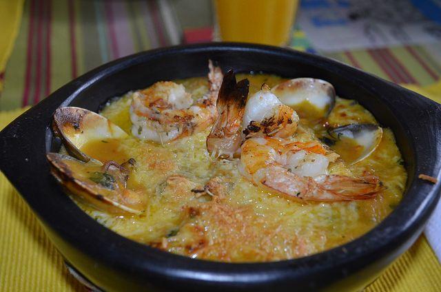 Cazuela de Mariscos @ La Comida de mi Casa by lgvanegas, via Flickr