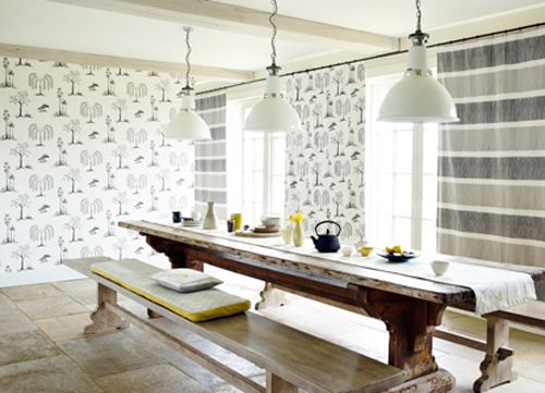 Sanderson - Traditional to contemporary, high quality designer fabrics and wallpapers   Blogs - catch up on the latest news and learn new interior design tips with our blog   British/UK Fabric and Wallpapers   Sanderson   Blog   Colour Concepts - Cool Contrast