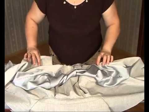 Притачивание подкладки.