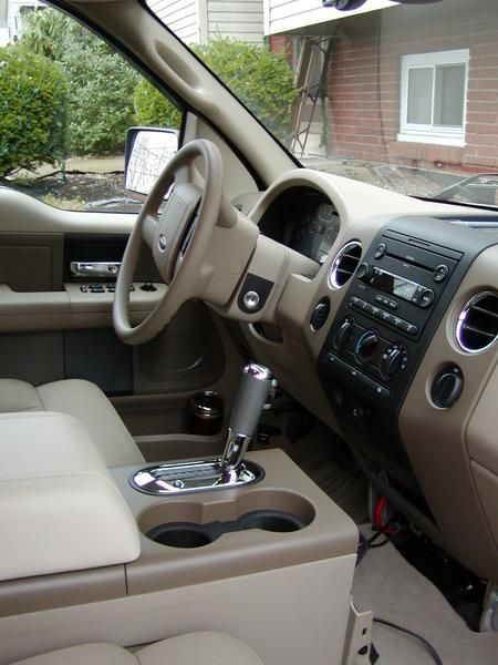 F150 Console Floor Shifter Swap Converting Column Shift To