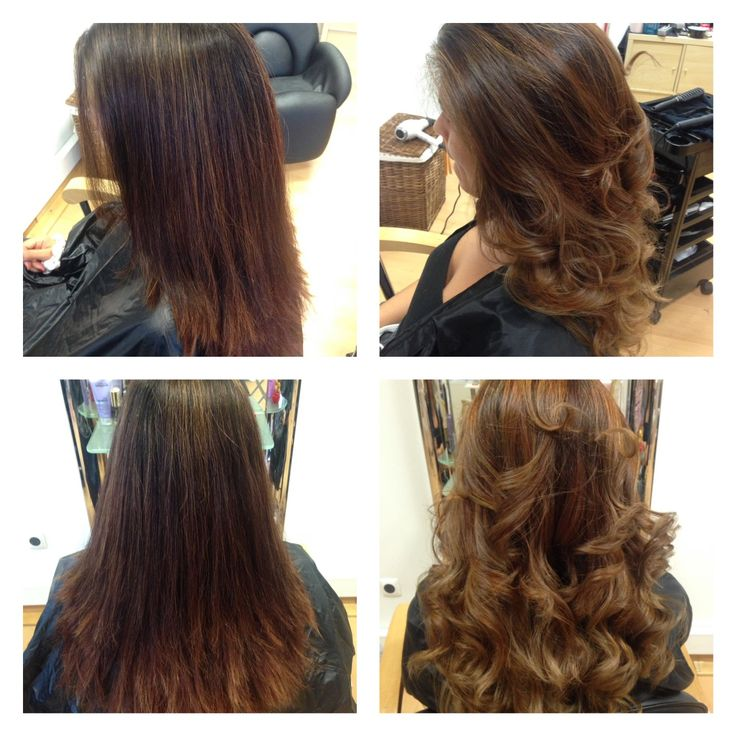 Ombre hair suave