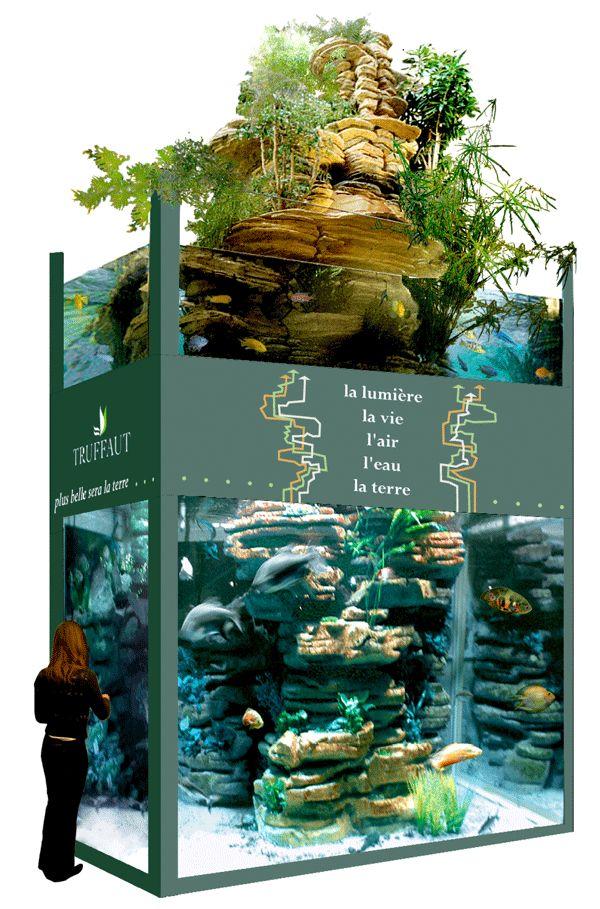 Les 25 meilleures id es de la cat gorie poissons d for Poisson decoration aquarium