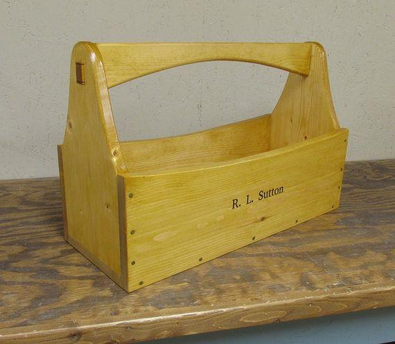 Personalized Tool Caddy Tool Box Garden Tote By Smithwick U0026 Co, ...
