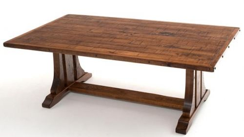 Bon Refined Rustic Dining Table Trestle Base By Woodland Creek Furniture In  Custom Sizes U0026 Finishes.