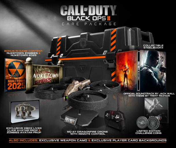 Treyarch teases Call of Duty: Black Ops 2 collector's editions. http://cnet.co/O3SWLm