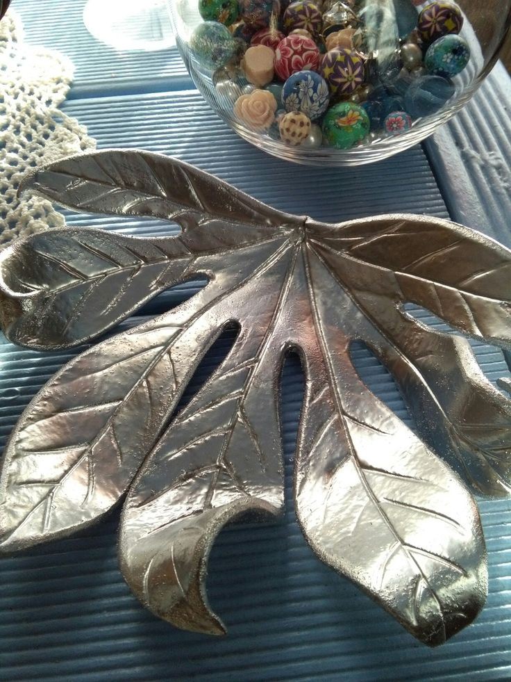 Finished Silver Leaf