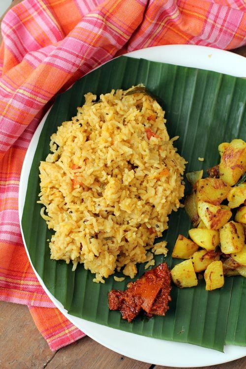 Arisi Paruppu Sadam ~ South Indian Style Dal Rice