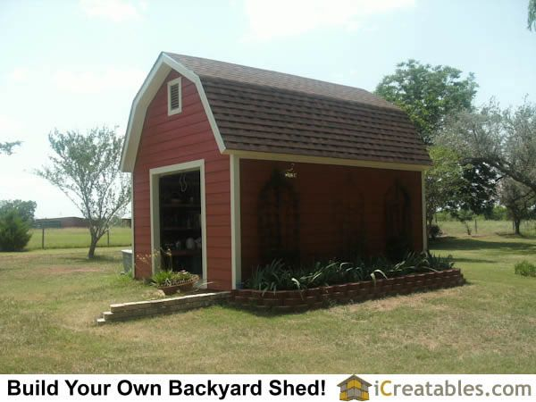 Pictures Of Gambrel Sheds Photos Of Gambrel Sheds In 2020 Small Barn Plans Storage Building Plans Shed Plans