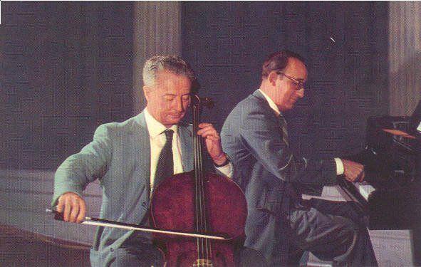 Pierre Fournier and Friedrich Gulda