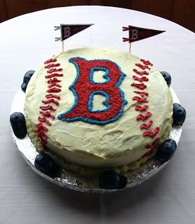 Cookin' Mary's Adventures: Red Sox Cake