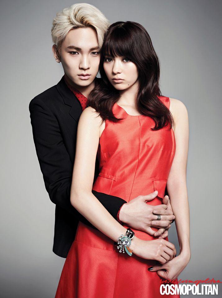 Shinee Key & Yagi Arisa