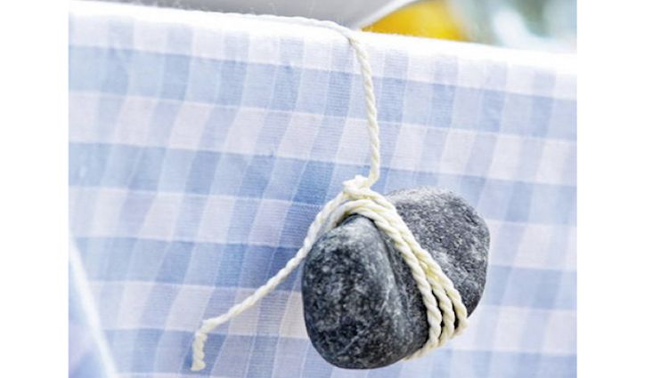 5 Quick Fixes: Solutions for Anchoring the Outdoor Tablecloth: Remodelista