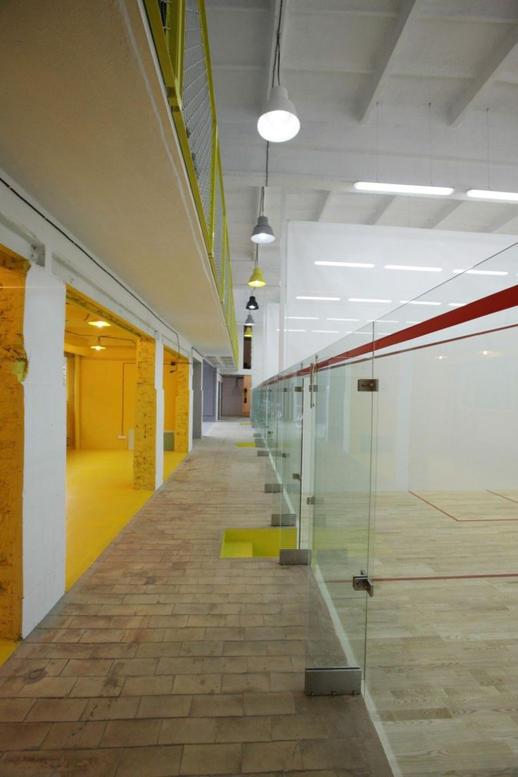 Gallery of Squashynski Squash Club / BUCK.ARCHITEKCI - 2