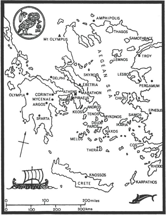 Ancient Greece Map. Detailed and printable. Simply Charlotte Mason
