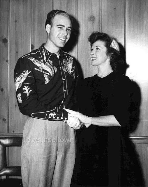 Singer Johnny Horton and Susan Hayward   Candids: 1950s ...