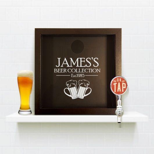 Beer Cap Keepsake Box