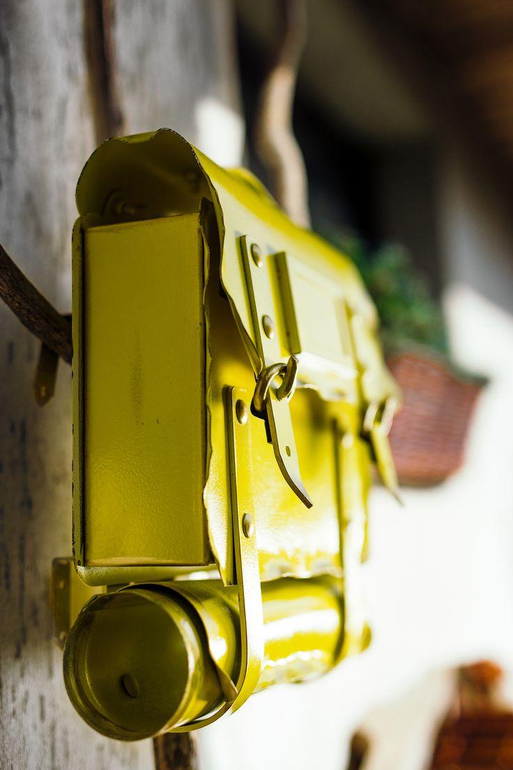 Handmade mailbox - deco idea