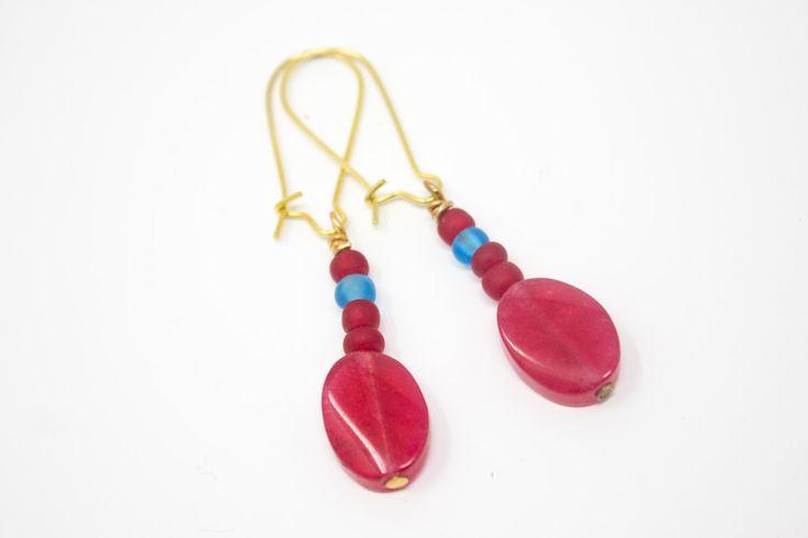 New in our shop! Red and Blue Earrings, Acrylic Earrings, Red Teardrop Dangle Earrings, Seed Bead Earrings, Patriotic Modern Earrings https://www.etsy.com/listing/513514357/red-and-blue-earrings-acrylic-earrings?utm_campaign=crowdfire&utm_content=crowdfire&utm_medium=social&utm_source=pinterest