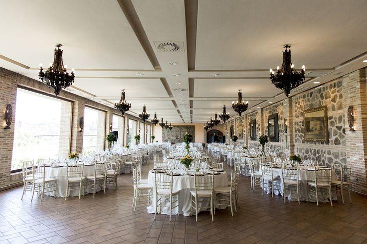 ¿Boda elegante en Toledo? ¡Escoge el Salón Panorámico! @click