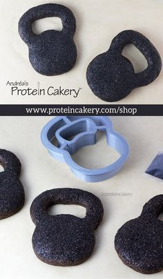 Kettlebell Protein Cookie Kit! All-natural, gluten-free protein cookies!