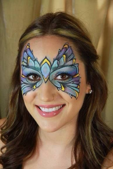 Henna By Leyla Shemesh: 984 Best Images About Face Paint- Fairies & Butterflies