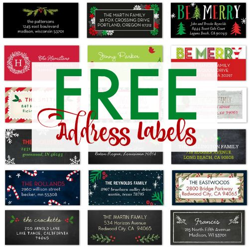 124 best Labels images on Pinterest Free address labels - free label templates for word