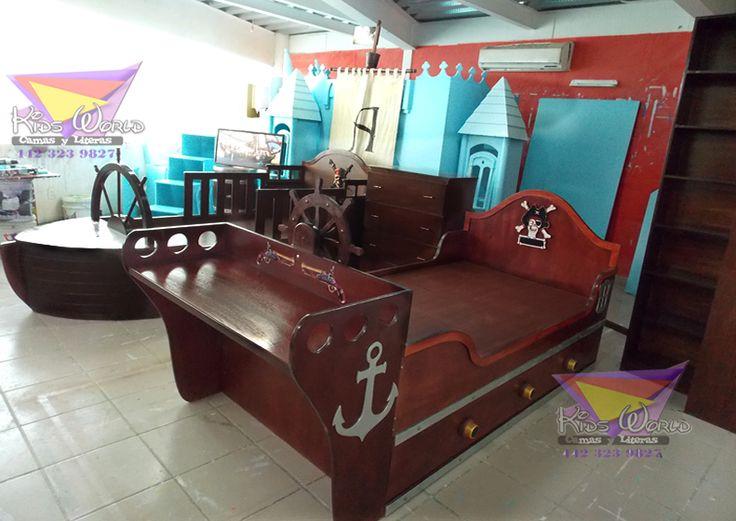 M s de 25 ideas incre bles sobre cama barco pirata en - Cama nido barco ...