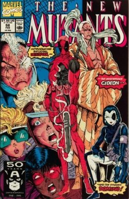 New Mutants #98 (1991): First Appearance, Deadpool. Click for values