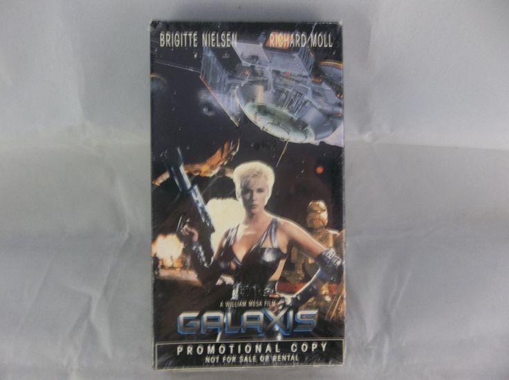 Galaxis Brigitte Nielsen Richard Moll 1995 Sci-Fi Promotional Copy VHS  #Galaxis #BrigitteNielsen #RichardMoll #SciFi #Cult #Promo #VHS #New #Bonanza