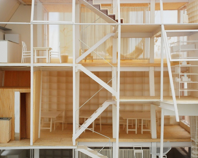 incredibly detailed section model - atelier bow-wow / venice biennale 2010