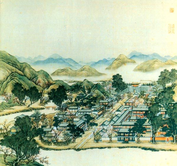 China's Old Summer Palace, Beijing...destroyed in the Second Opium War of 1860.