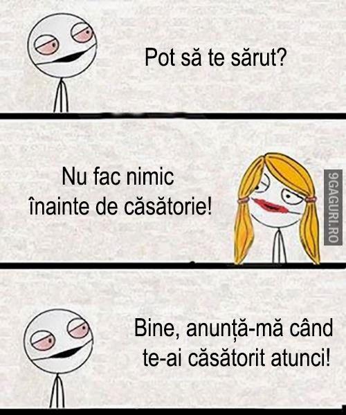 Pot Să Te Sărut? http://9gaguri.ro/media/pot-sa-te-sarut-1
