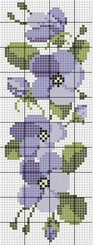 miniature needlework chart: