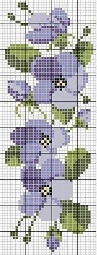 miniature needlework chart: