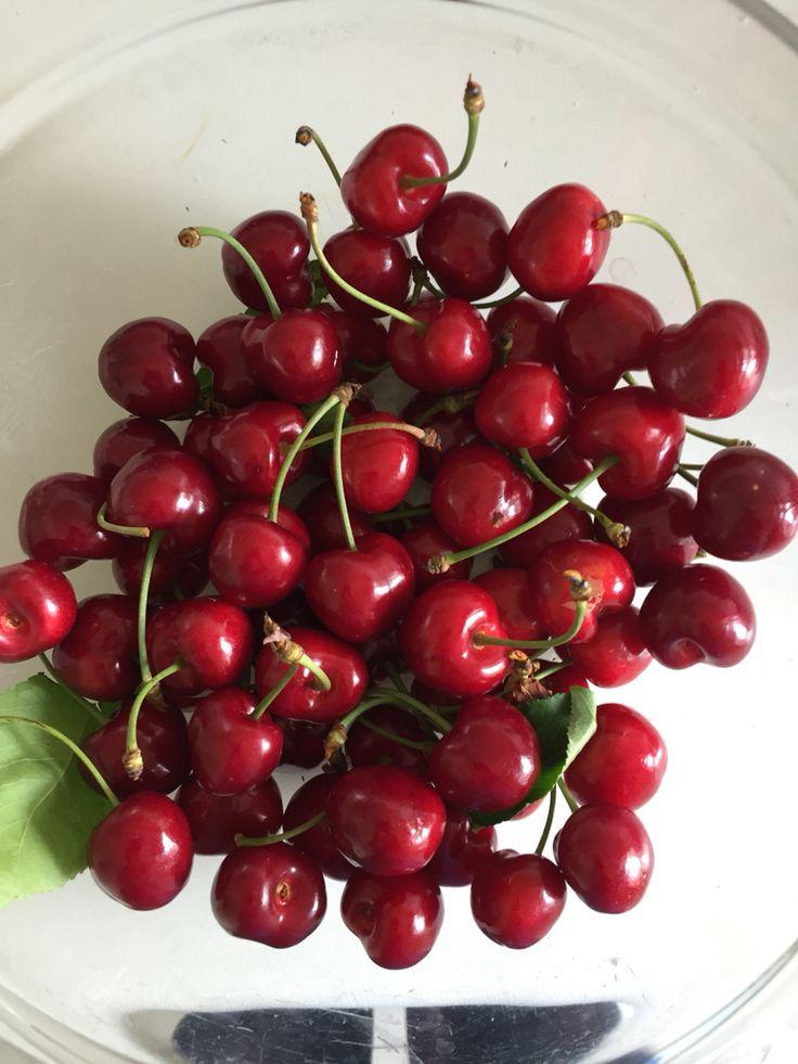 Natural Cherries from my GARDEN