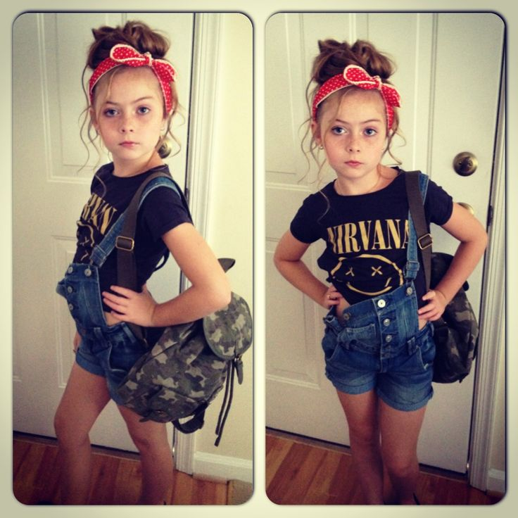 Zara girls fashion h vintage pinup rocker why is this 6 year old girl cuter than me?!